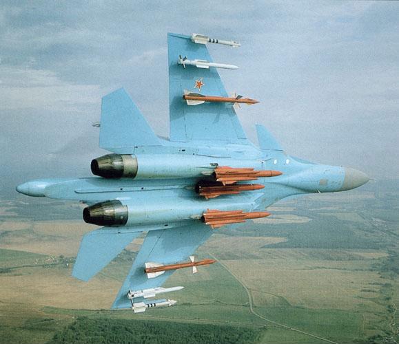МиГ-27 и Су-24 различных